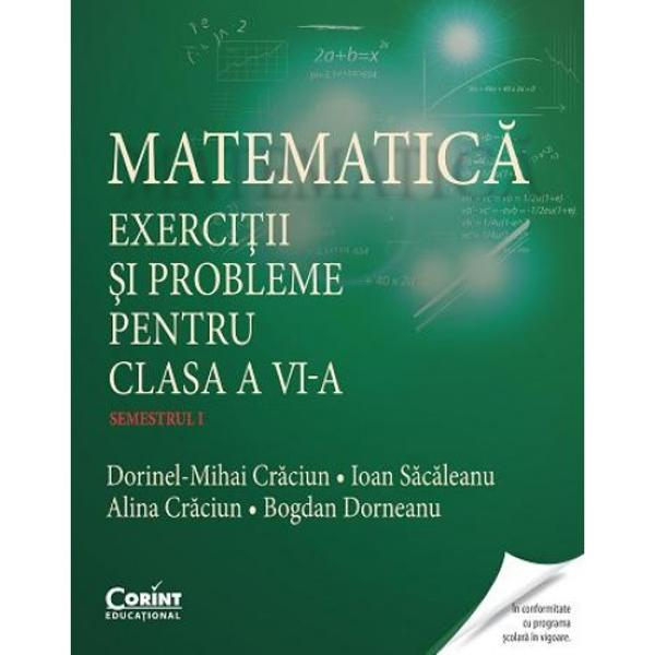 Lucrarea este elaborat&259; de autori cu o bogat&259; experien&355;&259; didactic&259; profesioni&351;ti de &355;inut&259; &351;i cu numeroase lucr&259;ri publicateSeria culegerilor de matematic&259; pentru gimnaziu include• Matematic&259; Exerci&355;ii &351;i probleme pentru clasa a V-a autori Georgeta Ghiciu Niculae Ghiciu• Matematic&259; Exerci&355;ii &351;i probleme pentru clasa a VII-a autori Claudiu-&350;tefan Popa Dorel