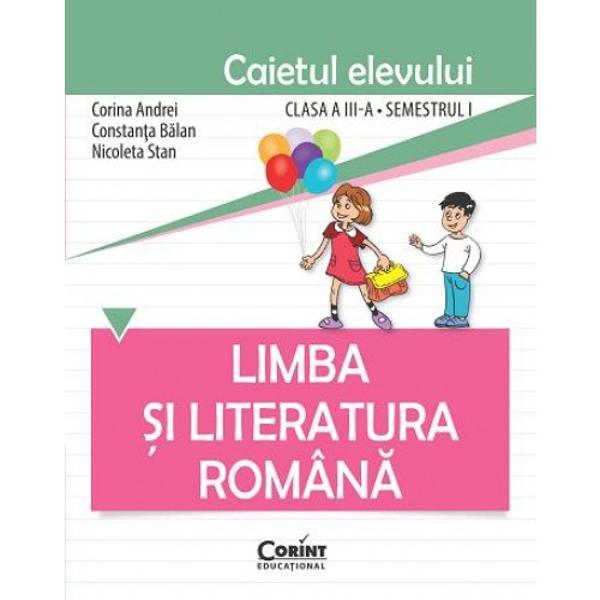 Limba &351;i literatura român&259; Caietul elevului pentru clasa a III-a este o completare a manualului Limba &351;i literatura român&259; clasa a III-a ofert&259; &351;colar&259; care a întrunit criteriile tehnice de calitate la licita&355;ia organizat&259; de MECS în anul 2015 În consecin&355;&259; lucrarea este conform&259; cu noua program&259; &351;i aliniat&259; noilor cerin&355;e ale educa&355;ieiPrincipiile didactice