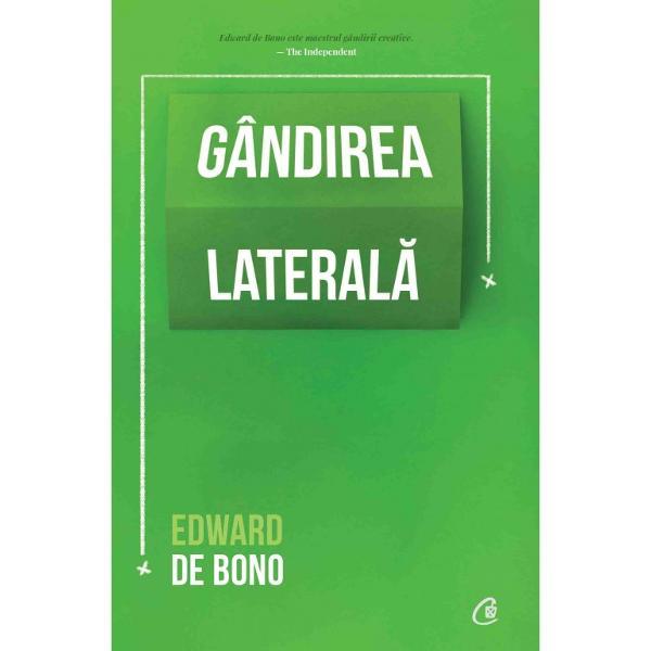 Edward de Bono este o personalitate de referin&539;&259; &238;n domeniul g&226;ndirii creative &537;i inventatorul conceptului de g&226;ndire lateral&259; &537;i al tehnicii celor &536;ase p&259;l&259;rii g&226;nditoare Recunoscut pe plan interna&539;ional &238;nv&259;&539;&259;mintele sale sunt apreciate de guverne &537;coli &537;i companii de marc&259;G&226;ndirea creativ&259; poate fi v&259;zut&259; astfel ca o abilitate obi&537;nuit&259; &537;i