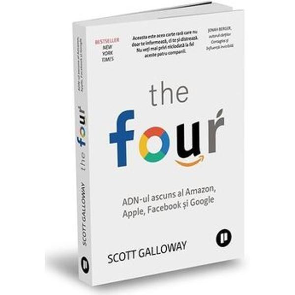 BESTSELLER NEW YORK TIMESDe&537;i s-a scris mult despreCei Patruîn ultimele dou&259; decenii nimeni nu le-a surprins puterea &537;i succesul uluitor la fel de bine ca Scott Galloway În loc s&259; cread&259; miturile pe care le propag&259; aceste companii Galloway pune întreb&259;ri fundamentale Cum s-au infiltratCei Patruîn vie&539;ile noastre atât de mult încât e aproape imposibil