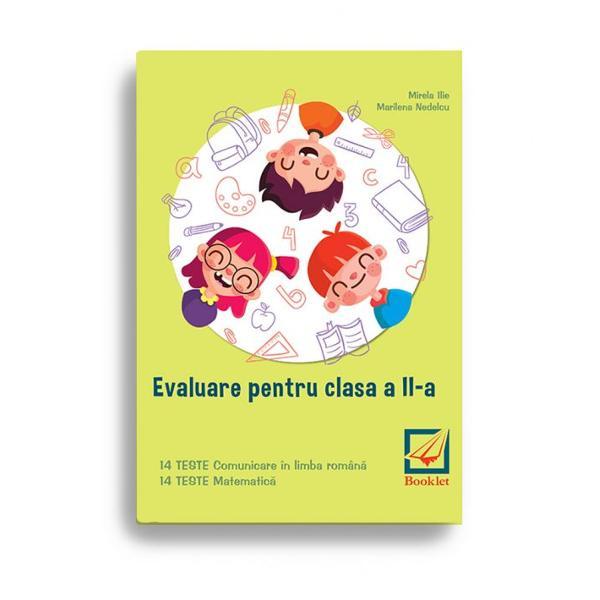 În conformitate cu programa &351;colar&259; &537;i ultimele modele de subiecte propuse de Ministerul Educa&539;iei Na&539;ionaleEvaluare pentru clasa a II-a este un instrument de lucru foarte util elevilor de clasa a II-a care se preg&259;tesc pentru sus&539;inerea examenului de Evaluare Na&539;ional&259;Con&355;ine 14 teste de comunicare în limba român&259; scris · citit &537;i 12 teste de matematic&259; ceevalueaz&259;