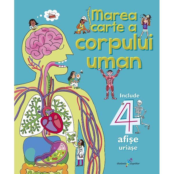 Corpul uman func&539;ioneaz&259; într-un mod uluitor iar aceast&259; enciclopedie pune întregul mecanism într-o lumin&259; extrem de atractiv&259; pentru copii