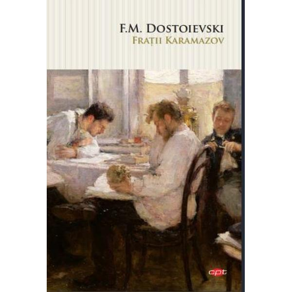 Fratii Karamazov cel din urma si cel mai complex roman al lui Dostoievski este in acelasi timp povestea scrisa magistral a unui paricid si o meditatie filosofica asupra intrebarilor esentiale ale umanitatii existenta lui Dumnezeu liberul-arbitru natura colectiva a vinei si consecintele dezastruoase ale rationalismului Intruchipind patru ipostaze fundamentale ale individului fratii Karamazov au fiecare motive bine intemeiate desi de naturi diferite sa-si ucida tatal