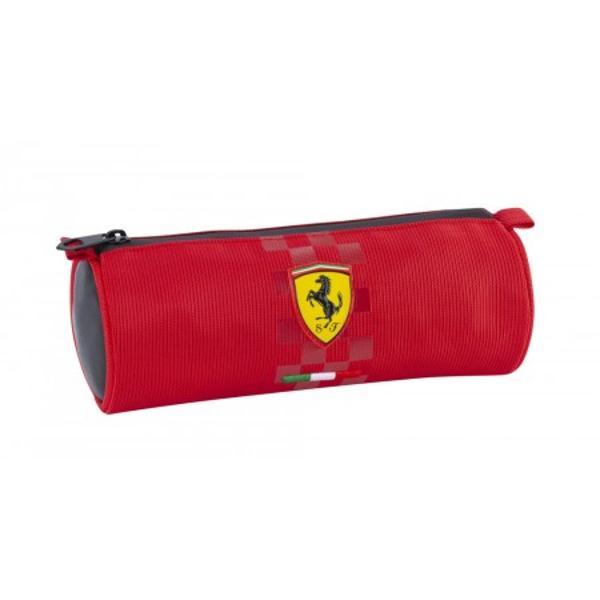 Penar rotund Ferrari rosupoate fi un cadou special pentru cei dragi Alege produse unice exceptionale pentru cei dragi tie Marca Ferarri este foarte cunoscuta la nivel international si este un produs premium pentru cei dragi tiePenarul rotund Ferrari este realizat din material textil cu insetii de piele ecologica pe margini Penarul rotund Ferrari rosu se inchide cu un fermoar ascuns Fata penarului are logo-ul Ferrari cusut in relief si steagul Italiei