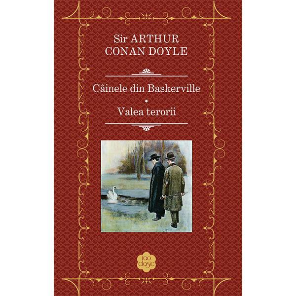 Câinele din Baskerville cel mai cunoscut roman din seria Aventurile lui Sherlock Holmes a fost publicat pentru prima oar&259; în foileton în anii 1901-1902 fiind inspirat de legendele povestite de jurnalistul Bertram Fletcher Robinson prietenului s&259;u Arthur Conan Doyle Povestea debuteaz&259; în regiunea Mla&537;tinilor Dartmoor din comitatul Devon unde baronetul Sir Charles Baskerville este g&259;sit z&259;când mort printre arborii de tis&259; de pe