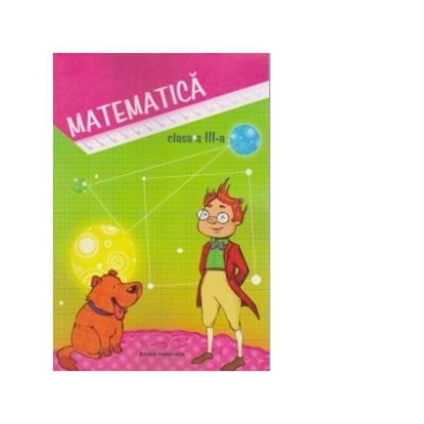 Matematica Auxiliar clasa a III a