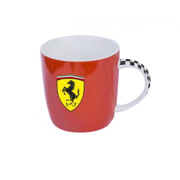 Cana Ferrari ceramica rosieeste un cadou perfect pentru orice iubitor de Ferrari Aceasta cana este potrivita pentru un cadou atat pentru un coleg sau sef de la birou cat si pentru cei dragi tata frate sot iubit sau copilCana Ferrari este realizata din portelan de cea mai buna calitate Este realizata in conformitate cu normele europene si are capacitate de 470 ml avand forma tronconica Cana este frumos decorata in nuante de rosu negru si galben