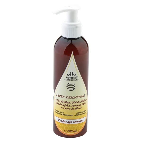 Ambalaj200 mlDetalii200 mlcu unt de shea uleiuri vegetale propolis miere si ceara de albineEfecte- curata si protejeaza epiderma;- revitalizeaza si improspateaza pielea;- hidrateaza pielea stimuleaza circulatiaMierea de albine contine un nivel ridicat de vitamina C o varietate de vitamine de tip B niacina riboflavina acid pantotenic minerale de