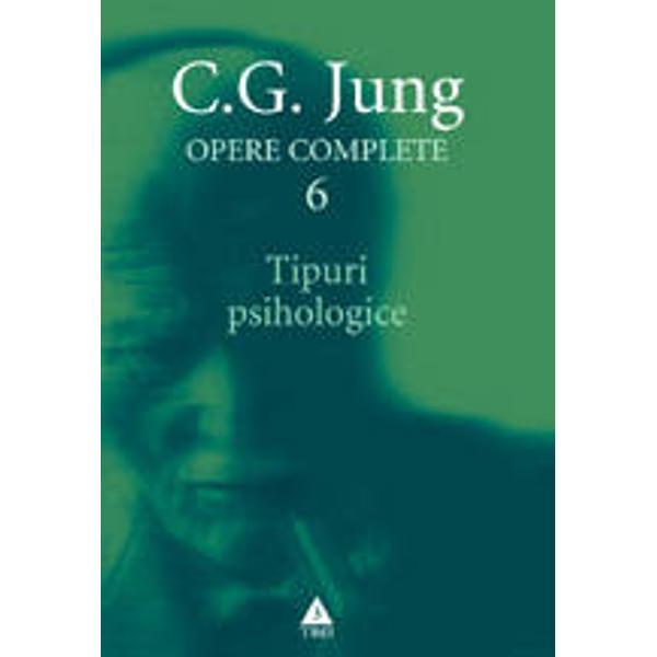 Cartea Tipuri psihologice se numa&131;ra&131; printre cele mai cunoscute contributii ale lui Jung la psihologie Autorul isi propune sa&131; delimiteze pe baza experientei sale clinice cateva tipuri de structura&131; si de functionare a psihicului cu scopul de a oferi cititorului repere pentru a se intelege mai bine pe sine si pe ceilalti oameniCapitolul final al volumului contine definitiile principalilor termeni jungieni elaborate de chiar cel care i-a introdus in limbajul de