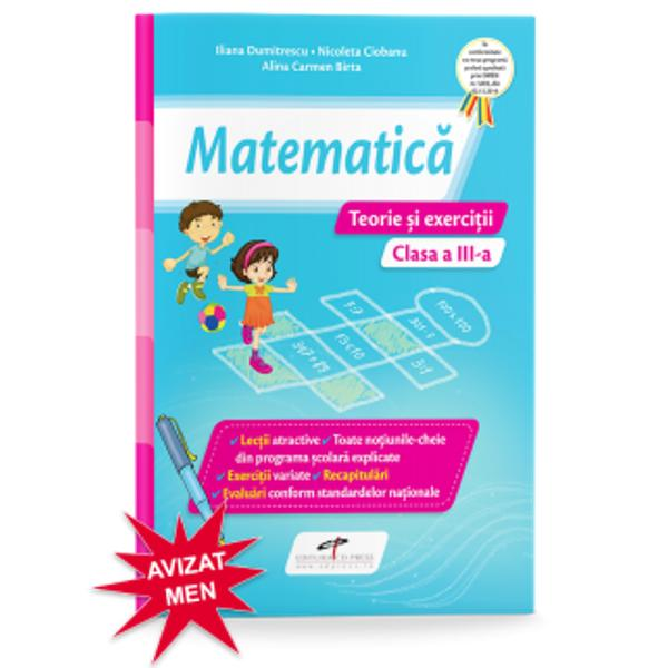 Matematica caiet clasa a III-a Teorie si exercitii