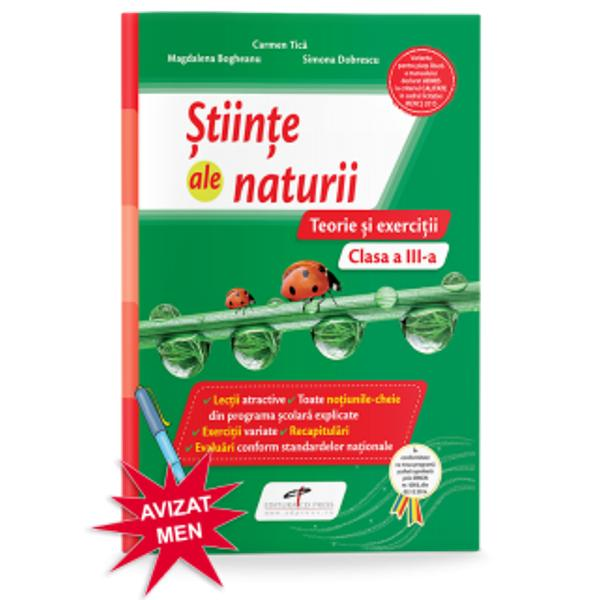 Stiinte ale naturii caiet cls a III-a Teorie si execitii