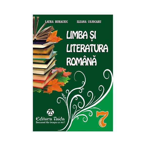 Limba si literatura romana clasa a VII a