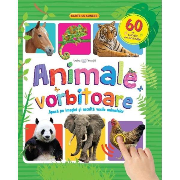 Deschide aceast&259; carte minunat colorat&259; &351;i vei p&259;trunde &238;n lumea animalelorVa fi distractiv s&259; &238;nve&355;i c&226;te ceva despre animalele din lumea &238;ntreag&259; &351;i s&259; ascul&355;i cum vorbesc eleApas&259; pe imagini &351;i animalele vor prinde via&355;&259;