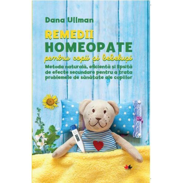 MANUALUL INDISPENSABIL PENTRU TRATAMENTUL HOMEOPAT AL COPIILORRemediile homeopate sunt utilizate tot mai des pentru tratarea problemelor de s&259;n&259;tate ale copiilor &537;i pentru a preveni apari&355;ia recidivelor &238;n contextul &238;n care din ce &238;n ce mai mul&539;i p&259;rin&539;i sunt preocupa&539;i de efectele secundare ale medicamentelor conven&539;ionale mai ales &238;n cazul tratamentelor pentru bebelu&537;i &537;i copii Remediile homeopate sunt metode