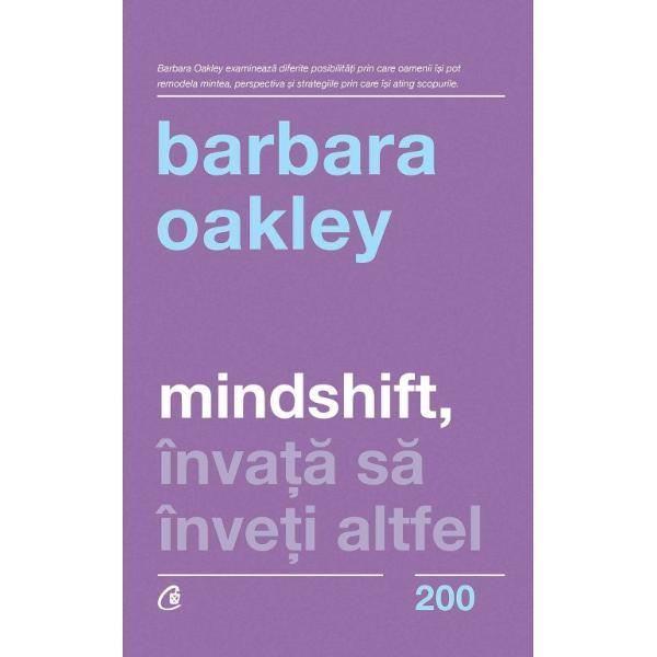 Barbara Oakley este &238;n prezent profesor deinginerie electric&259; &238;ns&259; a &238;nceput cu o carier&259; &238;n armat&259; urmat&259; de studiullimbilor slave A fost performant&259; &238;n toate domeniile &238;n care a activat&206;n cartea de fa&539;&259; pledeaz&259; tocmai pentruperforman&539;&259;  o dezvoltare profesional&259; &238;n mai multe
