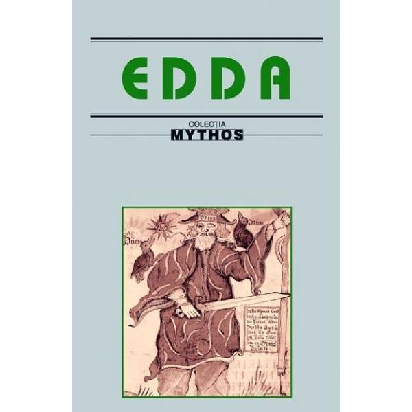 Edda - a carei prirna transpunere in limba romana o salutam cu bucurie - reprezinta cel mai vechi epos germanic nu numai in privinta datei cand a fost scrisa ci si in aceea a patrimoniului de credinte obiceiuri si valori morale pastrate mai bine in indepartatele tinuturi nordice unde nu au ajuns influentele receptate de literatura germanilor de la miaza-zi Asa cum scria nu de mult un comentator al poeziei epice a semintiilor germanice in Edda