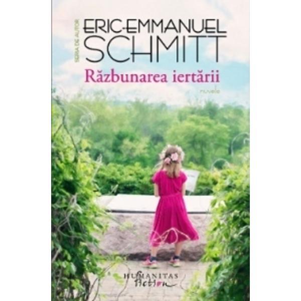 """Patru pove&537;ti &537;i patru destine ie&537;ite din comun imaginate de Eric-Emmanuel Schmitt pentru a explora sentimentele intense aproape niciodat&259; m&259;rturisite care ne determin&259; gesturile extreme""""Poate fi definit un om printr-o singurã faptã &536;i este iertarea mereu posibil&259; Acestea sunt întrebãrile care r&259;sunã neîncetat în fundalul pove&537;tilor cu deznod&259;mânt implacabil ale lui"""