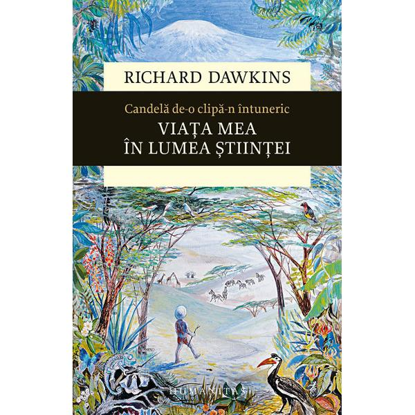 Candela de-o clipa-n intuneric este continuarea fireasca si mult asteptata a bestsellerului O curiozitate fara margini ce cuprinde prima parte a vietii unuia dintre cei mai mari oameni de stiinta si ganditori contemporani De data aceasta Richard Dawkins isi reaminteste cu umor si spirit critic viata dedicata stiintei si descoperirii Explorand efectele pe care publicarea Genei egoiste le-a avut asupra biologiei ca stiinta descriind cu ironie si cu afectiune lumea academica cea editoriala