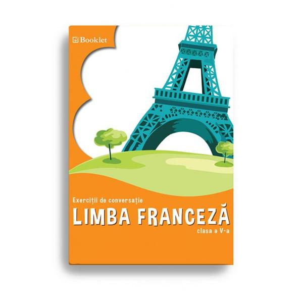 Exerci&539;ii de conversa&539;ie se adreseaz&259; elevilor de clasa a V-a care vor s&259; asimileze cuno&537;tin&539;e de limba francez&259; &537;i s&259;-&537;i formeze deprinderi de în&539;elegere a unui document audio &537;i de comunicare oral&259;Cartea este conceput&259; în conformitate cu programa &537;colar&259; în vigoare &537;i propune teme care ilustreaz&259; un vocabular variat &537;i exerci&539;ii ce vor dinamiza orele de