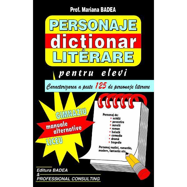 Personaje literare - dictionar