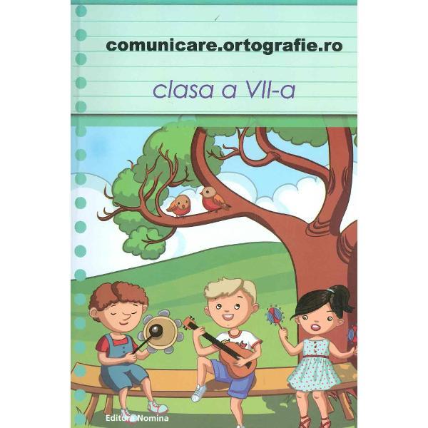 Comunicare Ortografie clasa a VII-a