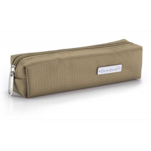 Penar lux Clasic nylon Bombata-Grej&160;este un penar subtire de mici dimensiuni usor de transportat si foarte elegant