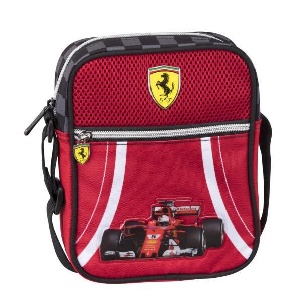 Borseta pentru umar Ferrari&160; poate fi un cadou inedit pentru prezenta masculina din viata ta Acesta este un produs exceptional pentru fanii Ferarri si Formula 1 Marca Ferarri este foarte cunoscuta la nivel international