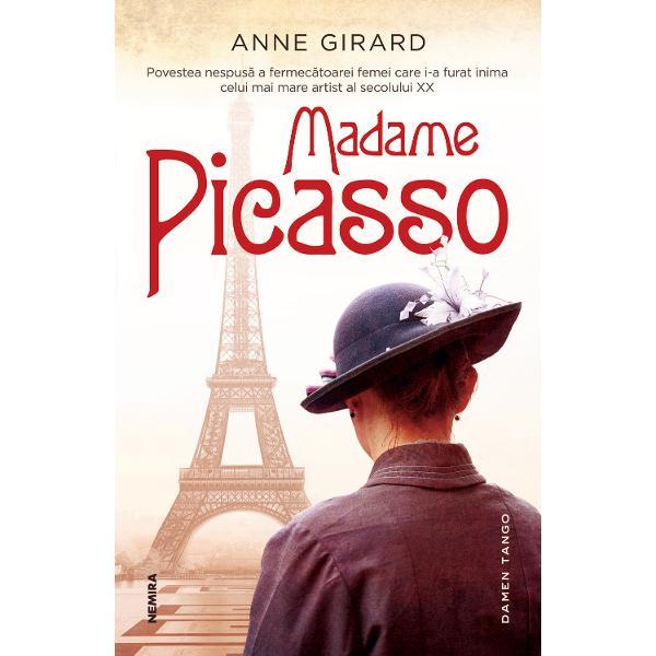 Povestea nespusa a fermecatoarei femei care i-a furat inima celui mai mare artist al secolului XXCand se muta la Paris Eva Gouel e plina de sperante si vise Desi fara experienta reuseste sa se angajeze costumiera la faimosulMoulin Rouge unde il reintalneste pe Pablo Picasso un artist in ascensiuneGenial si excentric Pablo este fermecat irevocabil de Eva si ceea ce incepe ca o aventura complicata devine prima mare poveste de dragoste din viata luibr