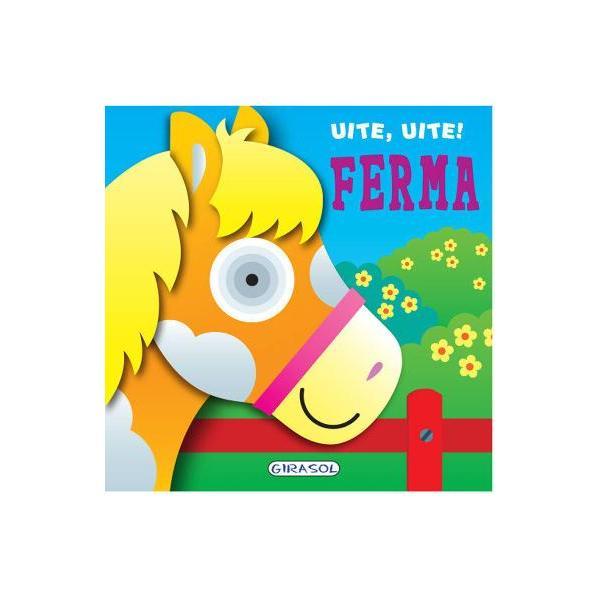 O carte cu pagini cartonate ideala pentru cele mai mici manuteCei mici vor decoperi primele informatii despre animalele de la ferma in texte scurte cu scris de tipar si pagini viu colorate