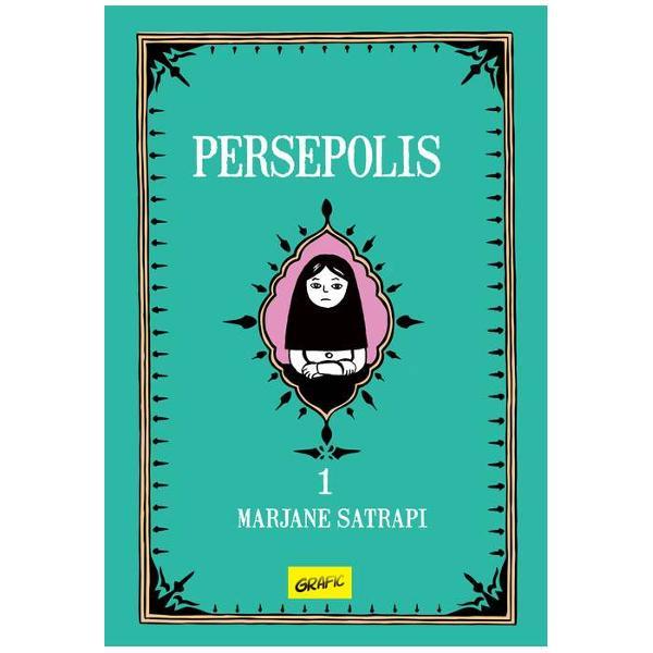 """Persepolis este autobiografia alb-negru a lui Marjane Satrapi traversând grani&355;ele dintre culturi cu luciditate &351;i sim&355;ul umorului de la copil&259;ria petrecut&259; la Teheran trecând prin adolescen&355;a vienez&259; pân&259; la plecarea definitiv&259; în Fran&355;aInclus în toate listele de """"lecturi obligatorii"""" când vine vorba de romane grafice Persepolis a fost de mai multe ori premiat la"""