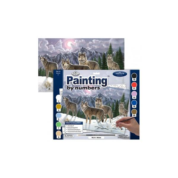 Pictura pe nr avansati mare-Haita lupieste un set ideal pentru orice artist care vrea sa-si depaseasca limitele si sa realizeze picturi exceptionale Cu ajutorul acestui produs o sa va fie usor sa invatati sa pictatiin culori sau sa va consolidati aptitudinile dobandite pana acumSetul contine un mini-ghid care o sa va indrume in conceperea unui tablou incredibil tot ce aveti de facut este sa fiti atenti la spatiile numerotate de pe plansa