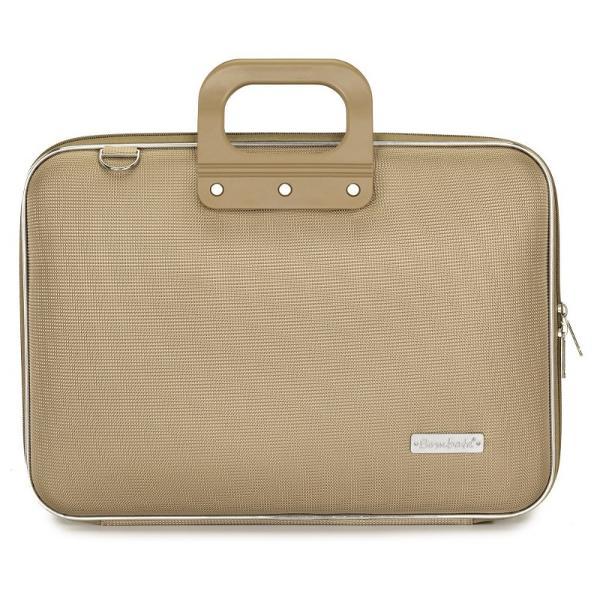 Geanta lux business laptop 156 in Clasic nylon Bombata-Grej&160;este o geanta de marime medie ideala pentru o tableta sau un laptop de 156