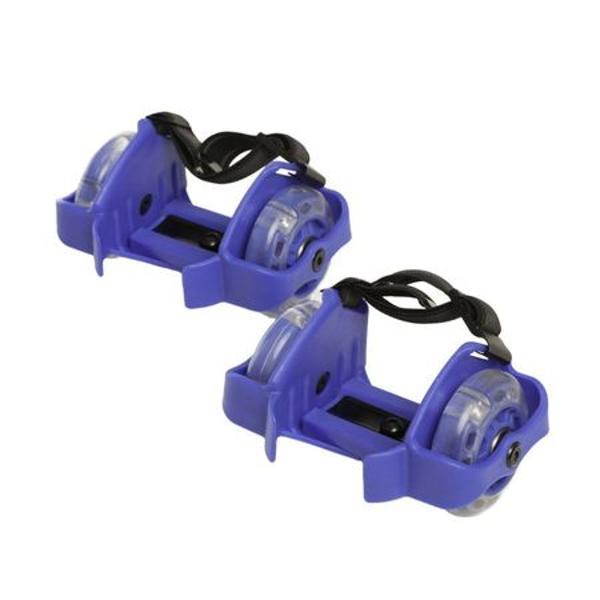 Role atasabile cu led Flash MaxtarSpecificatiiRole cu roti prevazute cu LED;ABEC 5;Sistem de fixare pe calcaiul piciorului ajustabil in 3 trepte;Curea de fixare din material textil elastic;