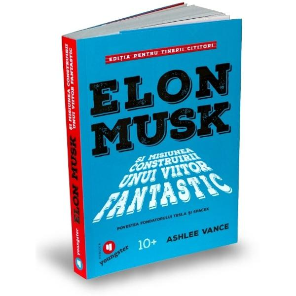 O poveste motiva&539;ional&259; despre unul dintre cei mai importan&539;i inovatori din lume acum adaptat&259; pentru tinerii cititoriÎn istorie sunt pu&539;ini oameni care ar putea s&259; egaleze entuziasmul &537;i viziunea lui Musk O combina&539;ie modern&259; de inventatori &537;i antreprenori celebri ca Thomas Edison Henry Ford &537;i Steve Jobs Musk este omul din spatele unor companii ca SpaceX Tesla SolarCity &537;i PayPal care transform&259;