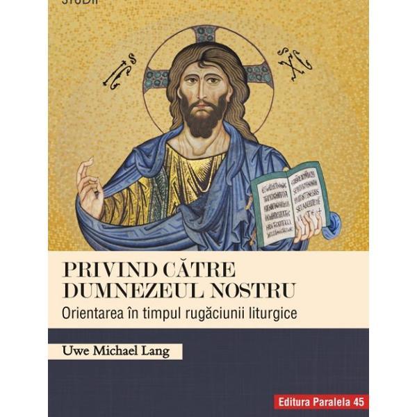 Sintez&259; holist&259; &351;i integratoare a publica&355;iilor pe aceast&259; tem&259; pornind de la principiul analizei surselor istorice al interpret&259;rii teologice &351;i p&226;n&259; la principiul eficacit&259;&355;ii practicii pastorale contemporane lucrarea lui UM Lang este cel mai bun studiu &351;tiin&355;ific cu privire la gestul orient&259;rii liturgice Autorul c&259;r&355;ii interpreteaz&259; sursele cu acribie &351;i rigoare &351;tiin&355;ific&259; iar