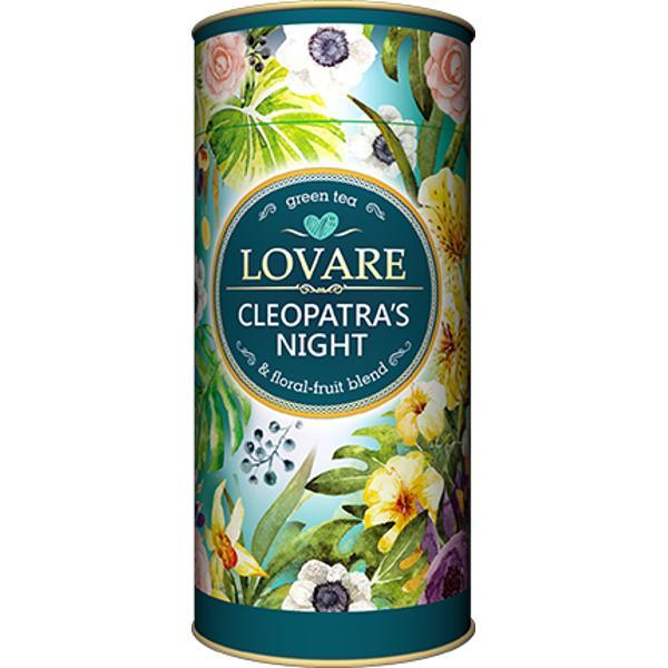 "Cleopatras night Amestec de ceai verde petale de flori &537;i fructe Frunze de ceai verde chinezesc ""Gunpowder""; fructe de ananas mere petale de flori &537;ofr&259;nel trandafir alb&259;strele &537;i g&259;lbenele boboci de trandafir fructe Goji arom&259; natural&259; de zmeur&259; Are 15 filtre pentru preparare infuzie incluseCutie 80g"