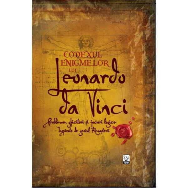 Mintea prodigioas&259; a lui Leonardo da Vinci a oferit at&226;t de multe lumii noastre a fost printre altele artist inginer inventator anatomist geolog &537;i cartograf A desenat schi&539;e &537;i planuri pentru numeroase obiecte care nu vor prinde via&539;&259; practic dec&226;t la multe secole dupa moartea lui iar abordarea sa &537;tiin&539;ific&259; asupra cercet&259;rii a fost cu mult &238;naintea timpului s&259;u&160;Aceast&259; carte se inspir&259; din sutele