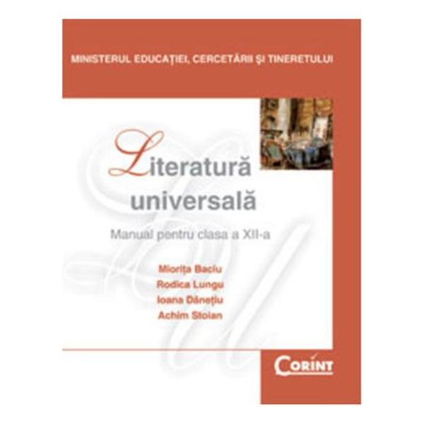 Literatura universala clasa a XII-a