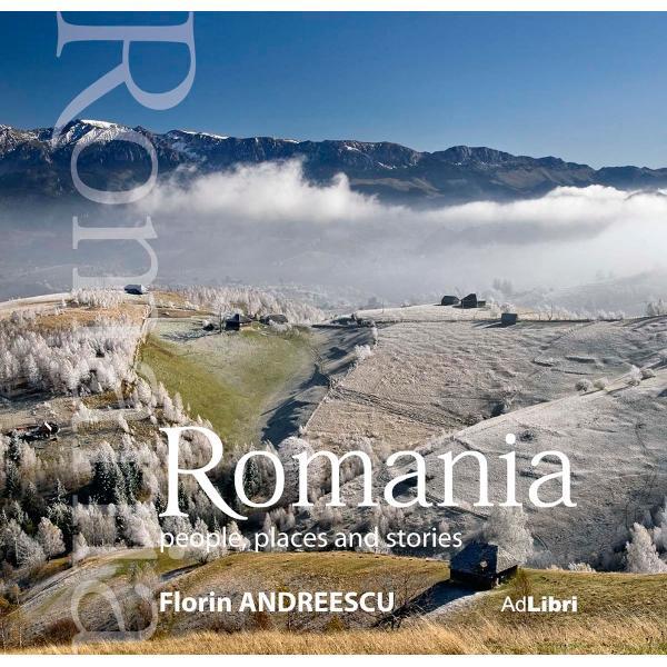 Un album de lux în format spectaculos cu fotografii inedite care pun în valoare chipuri de oameni dar si locuri si istorii românesti Ideal pentru a fi facut cadou cuiva care vrea sa plece din România cu o amintire de neuitat