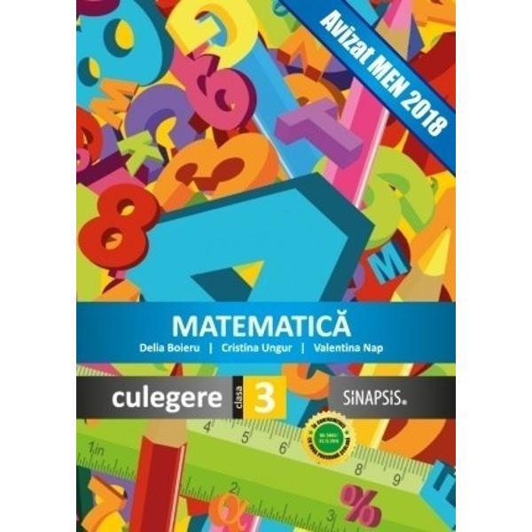 Matematica culegere clasa a III a