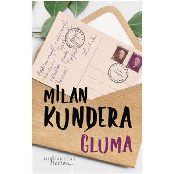 Cineva se joac&259; cu vie&355;ile noastre – pare s&259; spun&259; Milan Kundera în primul s&259;u roman – cineva leag&259; &351;i dezleag&259; întâmpl&259;rile în care suntem atra&351;i cu sau f&259;r&259; voie împingându-ne în fund&259;turi sau oferindu-ne brusc o libertate cu care nu &351;tim ce s&259; facem Cineva î&351;i râde de noi propunându-ne idealuri care se transform&259; irevocabil