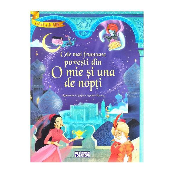 O carte minunata ce contine ilustratii superbe si personaje de neuitat care ii vor conduce pe micii cititori in lumea nemuritoarelor si captivantelor povesti ale Seherezadei