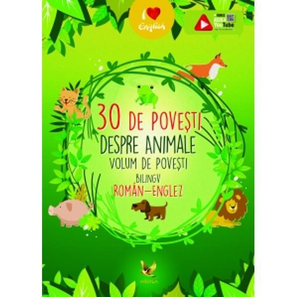 Un minunatvolum de povesti bilingvroman-englez care ii introduce pe copii in lumea povestilor dar ii ajuta si la aprofundarea limbii engleze