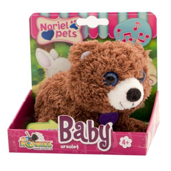 PentruFeteVarsta3 - 4 ani 4 - 5 ani 5 - 7 aniColectieBaby PetsBrandNoriel PetsCu cat este mai tacanit cu atat e mai dragalasNoriel Pets Baby - Ursulet face un singur lucru cat este ziua de lunga se joaca Dar nu de unul singur ci impreuna