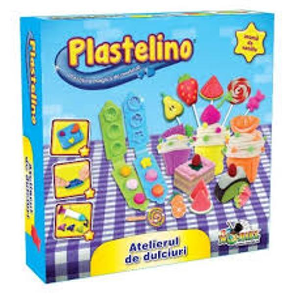 PentruBaieti FeteVarsta3 - 4 ani 4 - 5 ani 5 - 7 aniCuloareMulticolorBrandPlastelinoSet de plastilina accesorii instrumente si forme de modelat cu tematica culinaraArata-le tuturor ce gust minunat are imaginatia ta Modeleaza