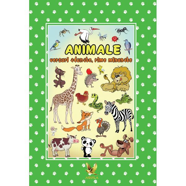 În aceast&259; carte prin intermediul poeziilor copiii p&259;trund în lumea ve&351;nic plin&259; de taine &351;i fascinant&259; a animalelor lume în care î&351;i petrec timpul cu drag ori de câte ori au ocazia Versurile haioase &351;i juc&259;u&351;e pe în&355;elesul lor dar cu rol educativ îi