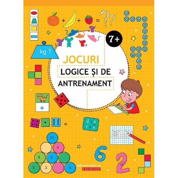 Activit&259;&539;ile pe care aceast&259; carte le cuprinde sunt de fapt provoc&259;ri adresate micilor cititori Jocurile logice exerci&539;iile antrenante activit&259;&539;ile amuzante sunt tot at&226;tea ocazii pentru copii de a-&537;i petrece timpul liber &238;nv&259;&539;&226;nd prin&8230; joac&259; &536;i &238;n plus cartea le ofer&259; celor mici &537;i ocazia de se verifica singuri la sf&226;r&537;itul volumului sunt prezentate solu&539;iile