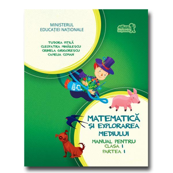 Matematica si explorarea mediului clasa I partea I  CD