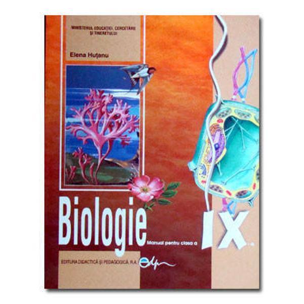 Biologie clasa a IX-a