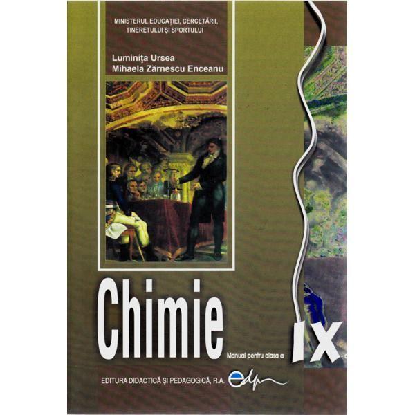 Chimie clasa a IX-a 2013 - Ursea